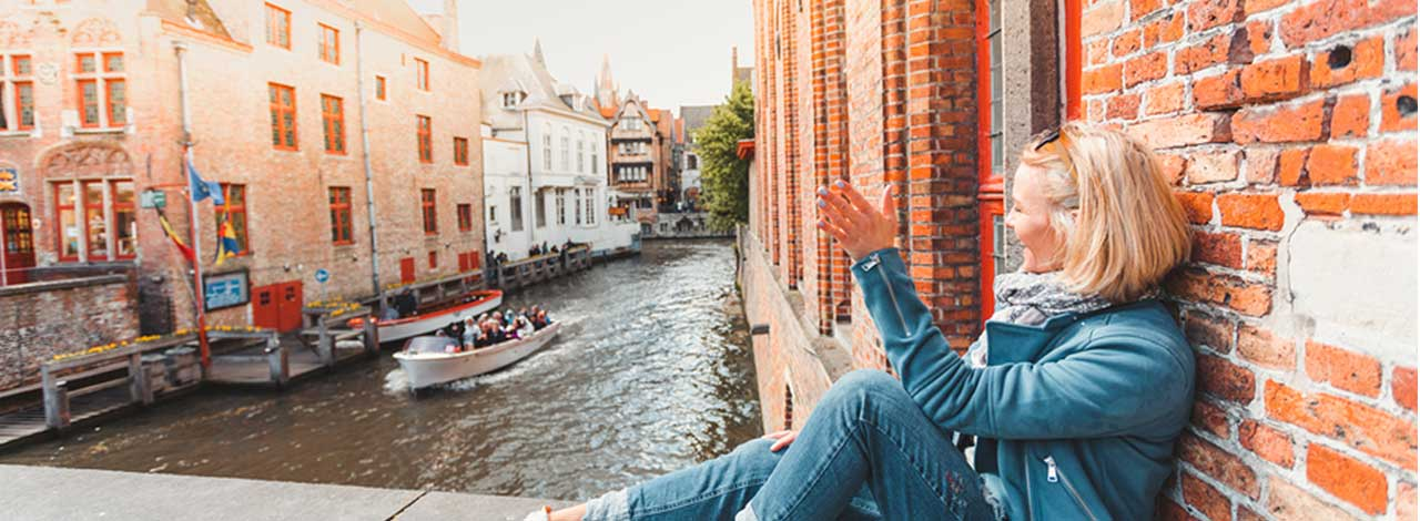 Vacation Savings - Tourist in Bruges