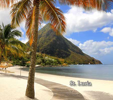 Wine-cruises-St.-Lucia-beach