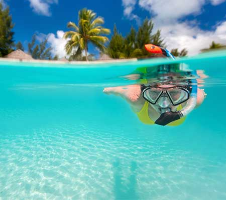 Cruise -Gift French-Polynesia-snorkelling