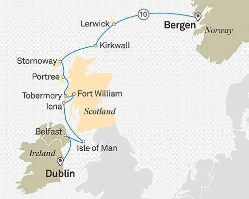 Scotland-&-the-hebrides-Itinerary-map