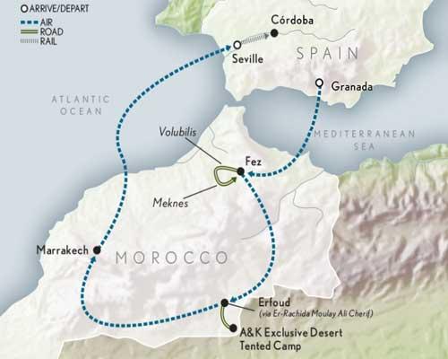Cruise savings Italy - map