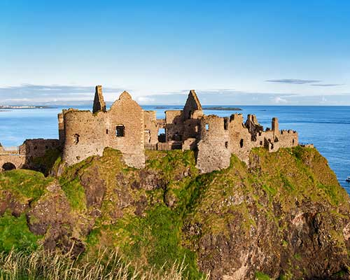 CIE Tours - Ireland Castle Ruins