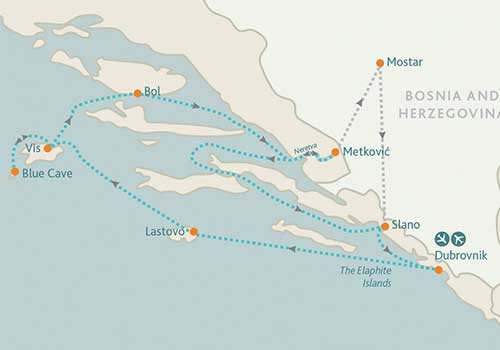 Cruise-Adriatic-Coast---Croatia-Bosnia