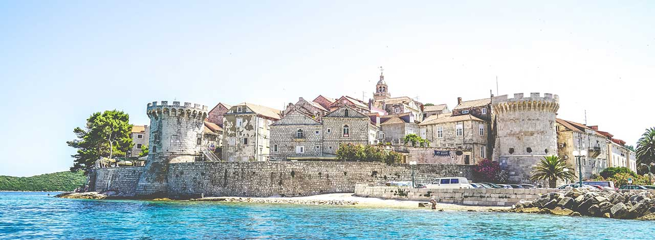 Cruise the Adriatic Coast - Korcula