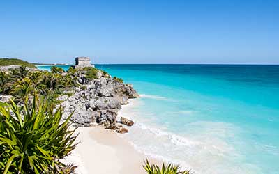 Cruise Central America - Tulum Beach