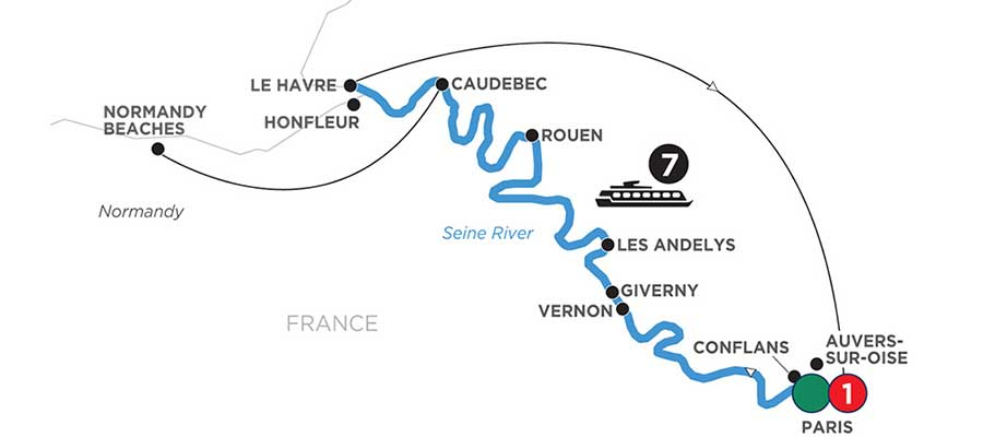 Storyteller series river cruises France