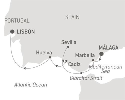 No single supplement Iberian Secrets map